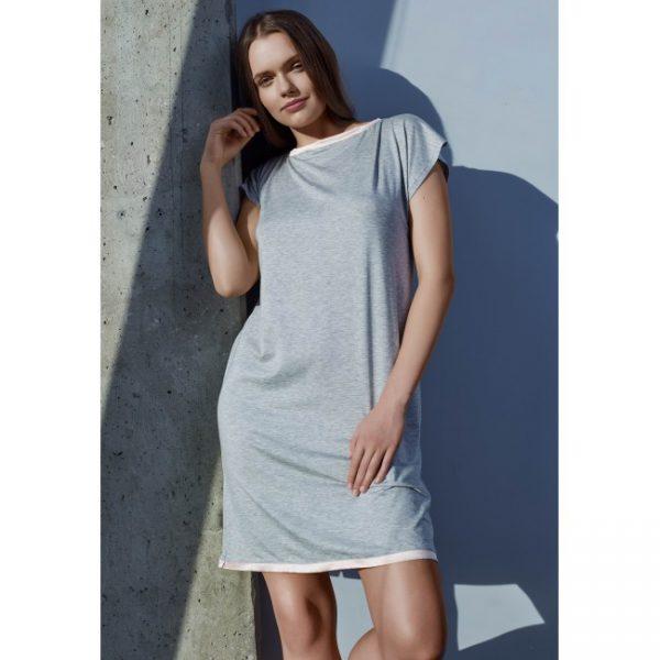 Сорочка ночная женская H4617N серебряный дождь