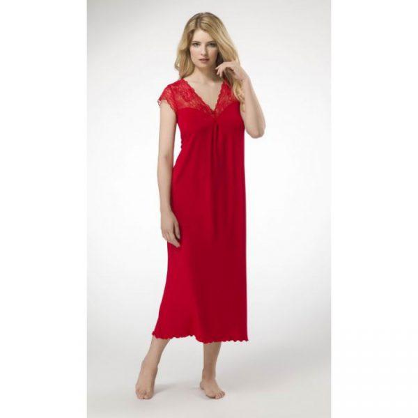 Сорочка ночная женская G3616N красный