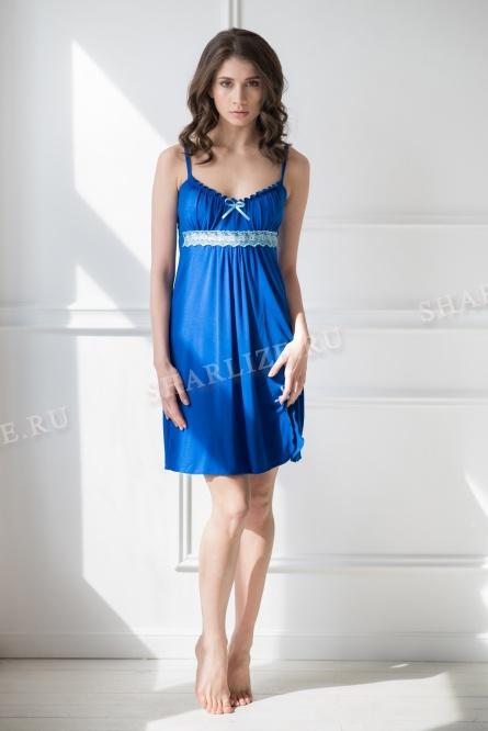 Сорочка 0055 Ассоль васильковый - Одежда для сна - Интернет-магазин ... 760c24fc041