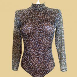 Боди 9123 Леопардовый