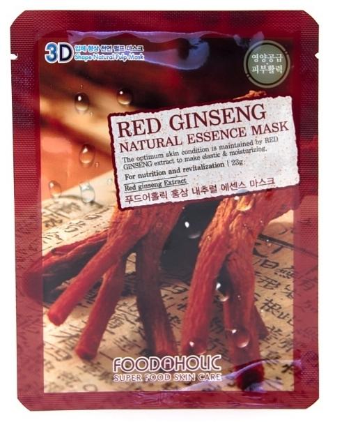 3D Маска с натуральным экстрактом красного женьшеня