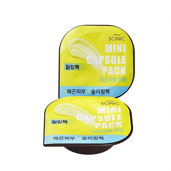 Маска капсульная ночная с лимон SCINIC