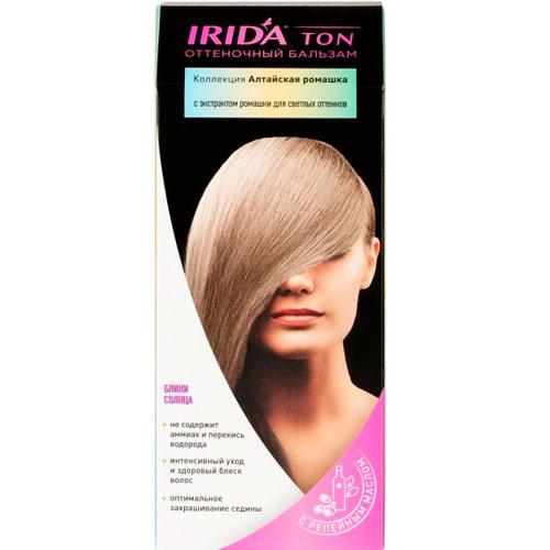 Бальзам оттеночный для окраски волос IRIDA TON БЛИКИ СОЛНЦА