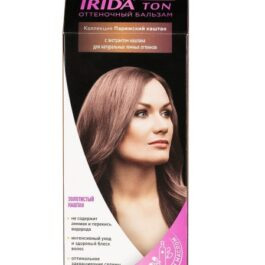 Бальзам оттеночный для окраски волос IRIDA TON ЗОЛОТИСТЫЙ КАШТАН