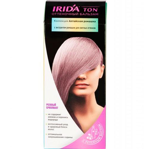 Бальзам оттеночный для окраски волос IRIDA TON РОЗОВЫЙ БРИЛЛИАНТ