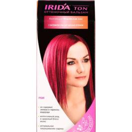 Бальзам оттеночный для окраски волос IRIDA TON РУБИН