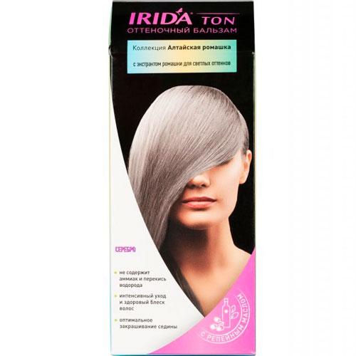 Бальзам оттеночный для окраски волос IRIDA TON СЕРЕБРО