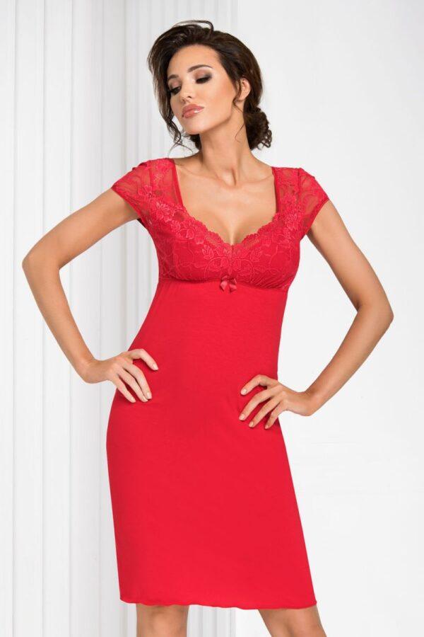 Сорочка Brigitte красный Donna