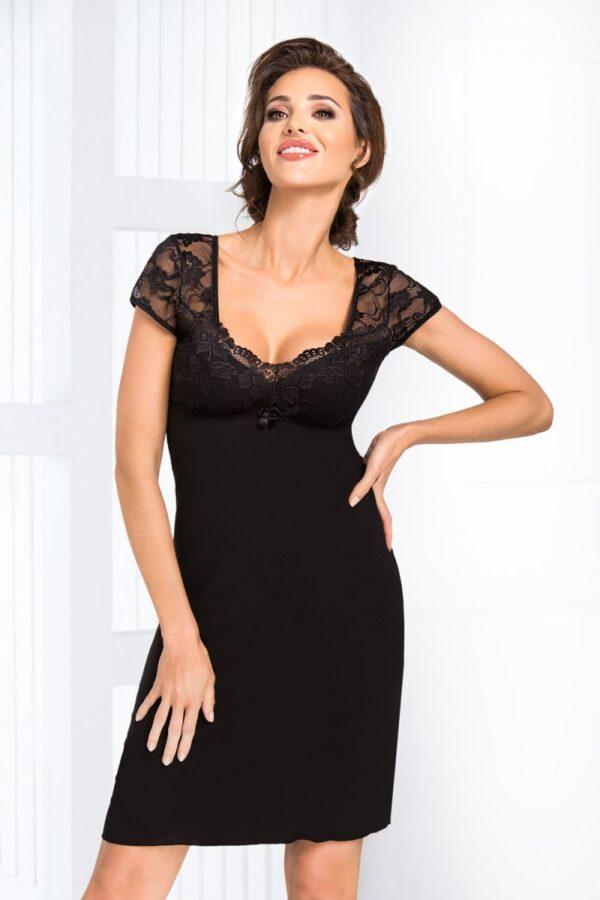 Сорочка Brigitte черный Donna