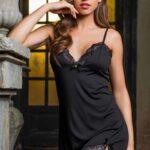 Сорочка Elegance de lux 12030 черный