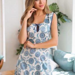 Сорочка Julie 17544 белый с голубым