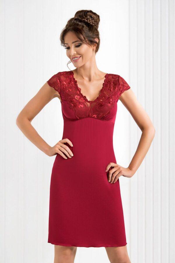 Сорочка Romina бордовый Donna