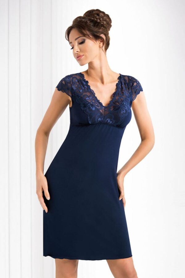 Сорочка Romina темно-синий Donna