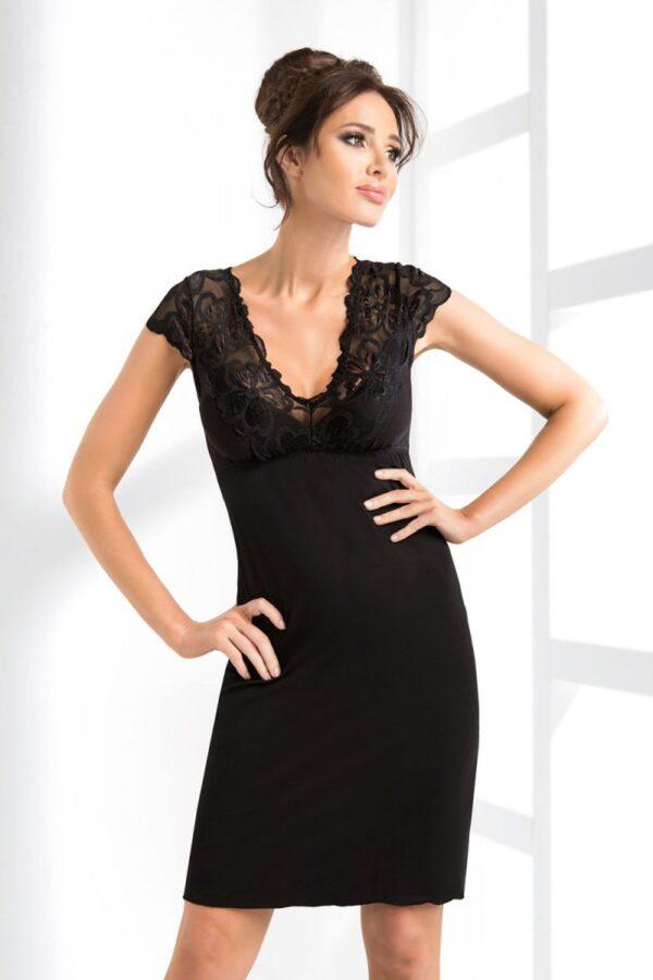 Сорочка Romina черный Donna