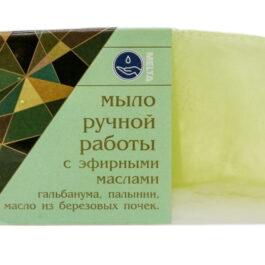 Мыло ручной работы с эфирными маслами БЕРЕЗОВОЕ