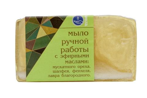 Мыло ручной работы с эфирными маслами ПРЯНОЕ