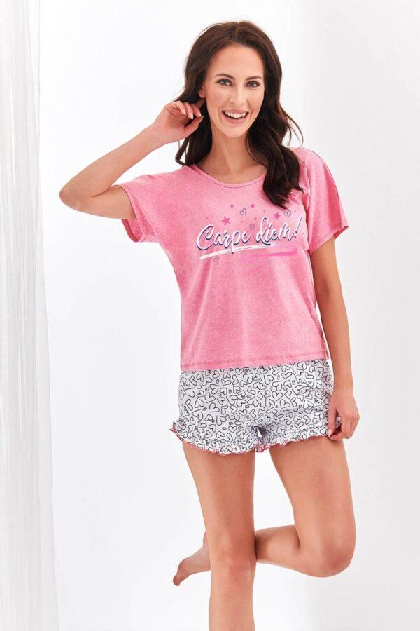 Пижама Willy 2279-01 розовый с белым Taro