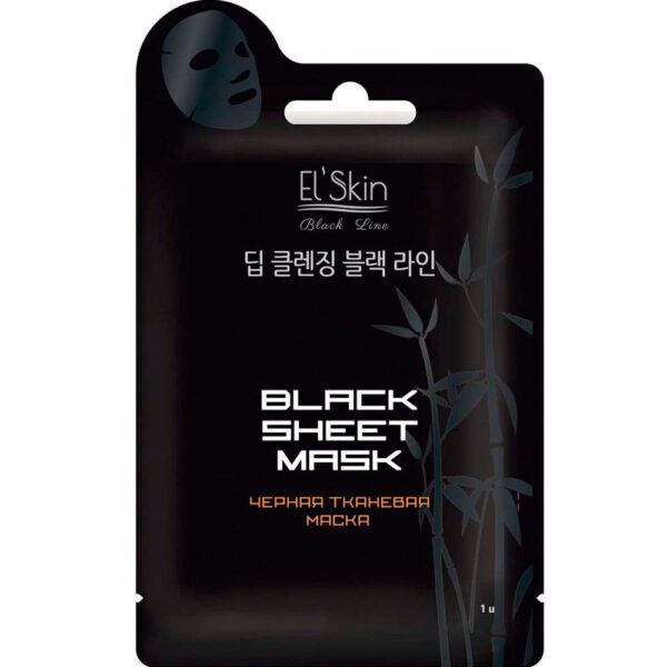 Маска тканевая черная ES-913