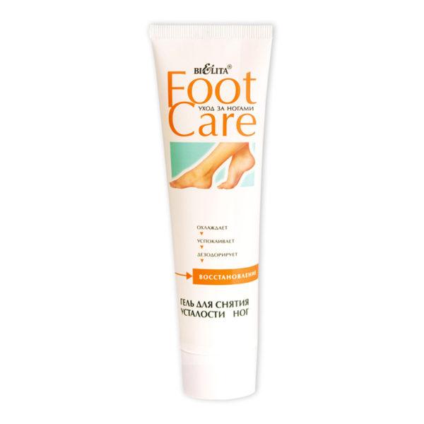 Гель для снятия усталости ног FOOT CARE