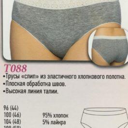 Трусы T088 серый Новое Время